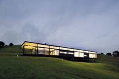 Modern Architecture New Zealand hill slide   urbis magazine