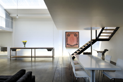 Pole position urbis magazine - The fireman pole apartment an incendiary design ...